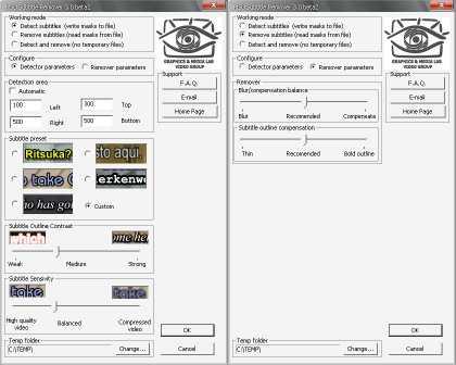 MSU Subtitle Remover VirtualDub plugin