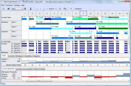 Download Multi Project Planner