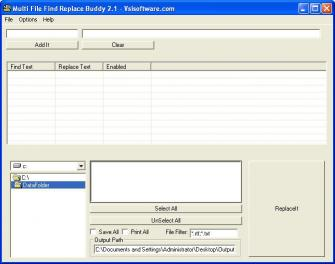 Download Multiple File Find Replace Buddy