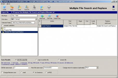 Download Multiple File Search and Replace