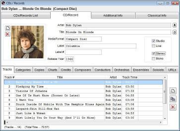 Download Music Catalogue Master