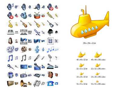 Download Music Icon Library