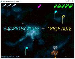 Download Music Notes In Space HN