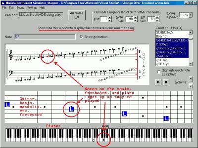 Download Musical Instrument Simulator/Note Mapper