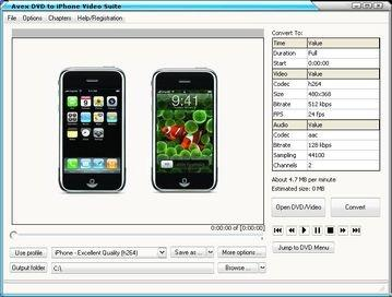 Download My DVD to iPhone Video Suite 080809