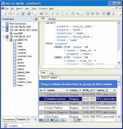 Download MyISQL (ISQL for MySQL)