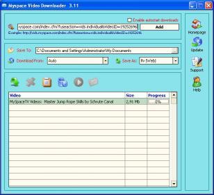 Download Myspace Video Downloader