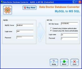 Download MySQL To MS SQL Conversion Software