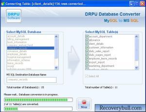 Download MySQL to MS SQL Converter