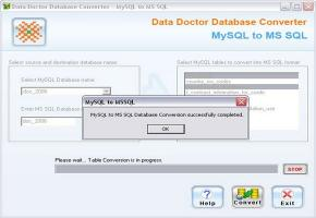 Download MySql to MSSQL Database Transfer Tool