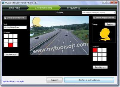Download Mytoolsoft Watermark Software