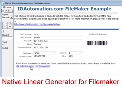 Download Native Linear Generator for Filemaker