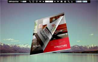 Natural Scenery Style Theme for 3D Book