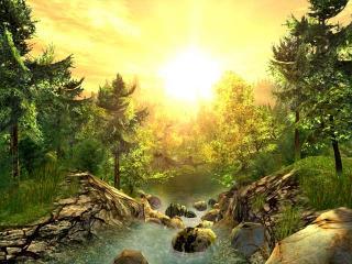 Download Nature 3D Screensaver