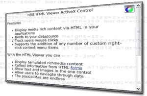 Download nBit HTML Viewer ActiveX