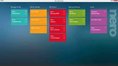 Nero 2015 Classic installer