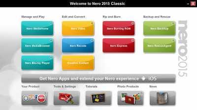 Download Nero 2015 Classic