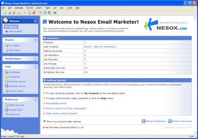 Download Nesox Email Marketer Personal Edition