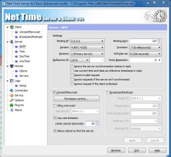 Download Net Time Server & Client