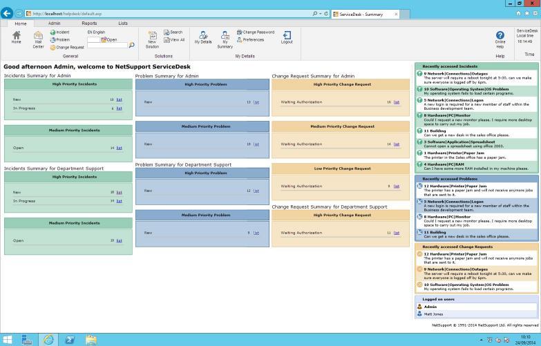 Download NetSupport Servicedesk