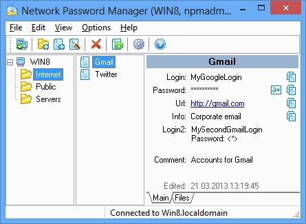 Download Network Password Manager