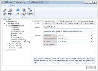 Download Network Profile Manager 2014 Pro