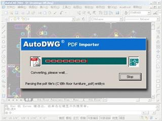 Download New PDF to DWG Stand-Alone version