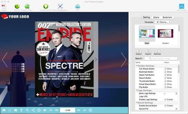 Download Next FlipBook Maker for Mac