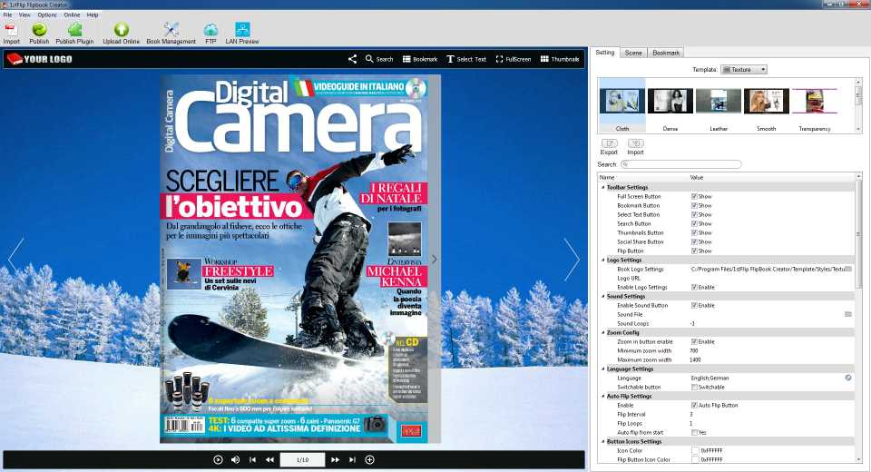 Download Next FlipBook Maker for Windows