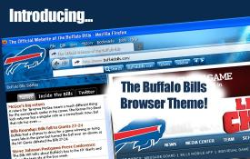 Download NFL Buffalo Bills Firefox Browser Theme