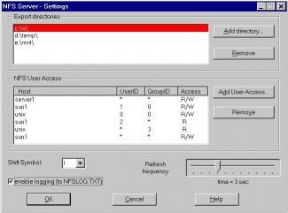 Download nfsAxe Windows NFS Client and NFS Server