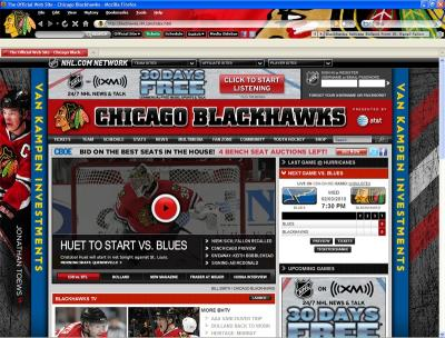 Download NHL Chicago Blackhawks Firefox Theme