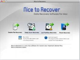 Download Nice to Recover Data for Mac