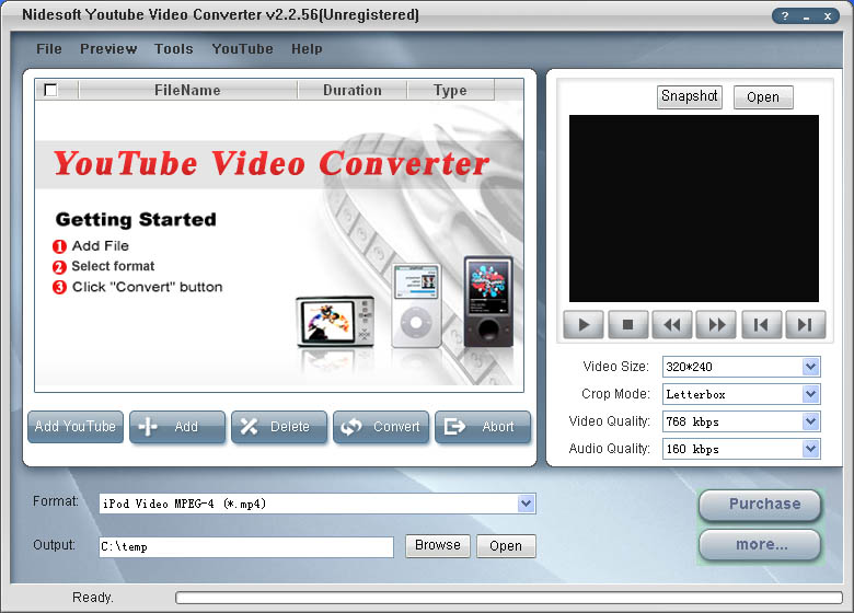 With tits youtube video converter
