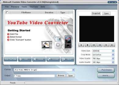 Nidesoft YouTube Video Converter