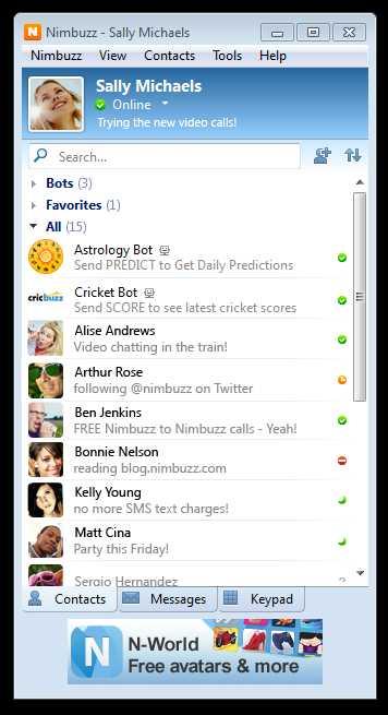 Nimbuzz Messenger - standaloneinstaller com