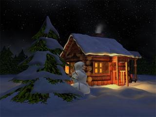 Download Nival Winter 3D Screensaver