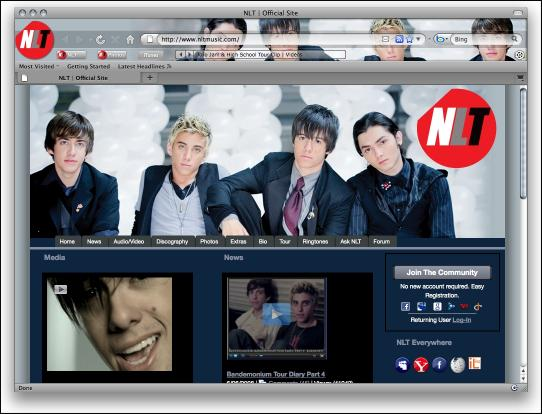 Download NLT Firefox Theme