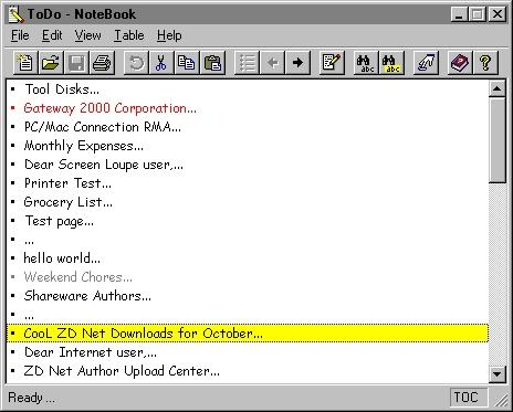 Download NoteBook 2000