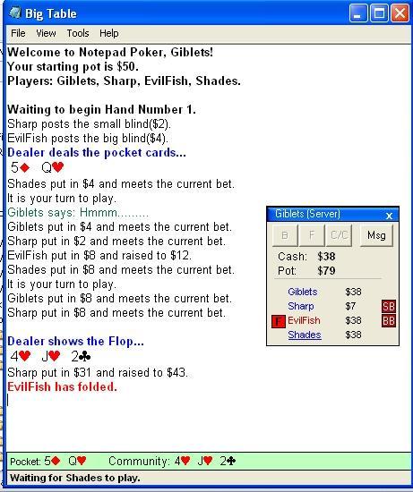 Download Notepad Poker