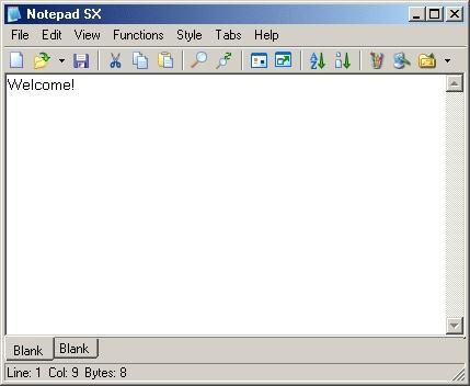 Download NotePad SX