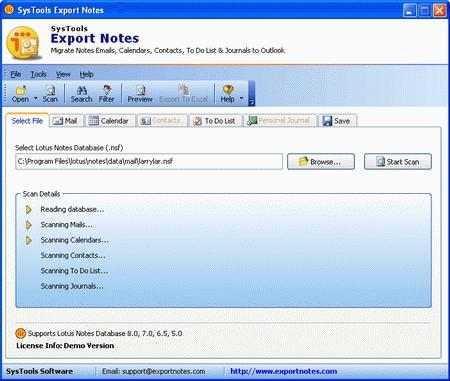 Download Notes to Outlook Converter