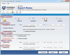Download Notes to PST Converter
