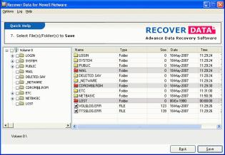 Download Novell Data Recovery Product