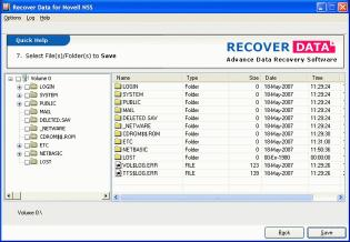 Download Novell NSS Data Recovery