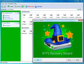 Download NTFS Recovery Wizard