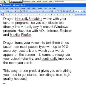 Download Nuance Dragon NaturallySpeaking