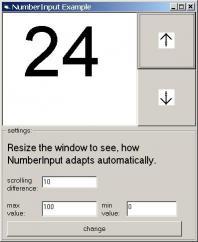 Download NumberInput ActiveX