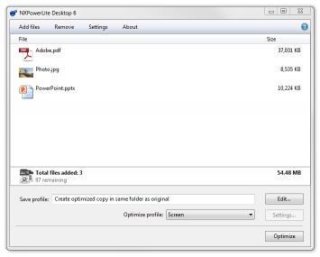 Download NXPowerLite Desktop