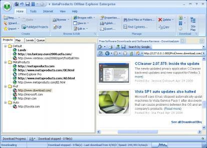 Download Offline Explorer Enterprise
